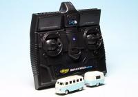 VW T1 Bulli Samba Bus mit Hymer Eriba Puck Wohnwagen - ferngesteuert mit 2.4 GHz Technologie