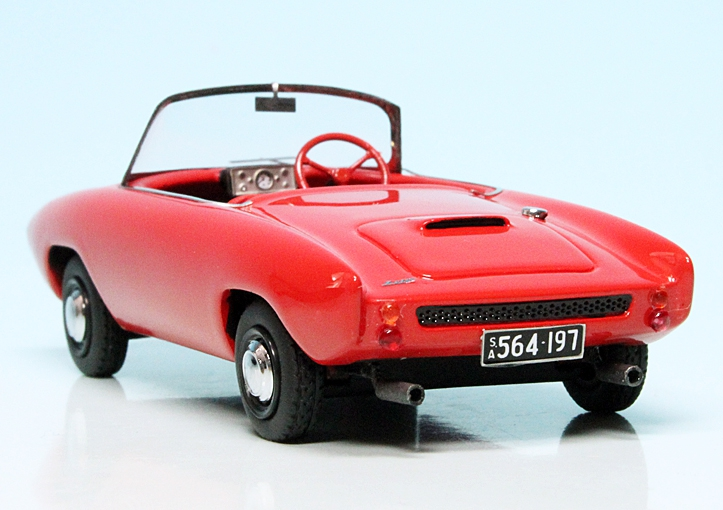 wonderful modelcar LIGHTBURN ZETA SPORTS ROADSTER 1963 scale  1//43 ltd.333